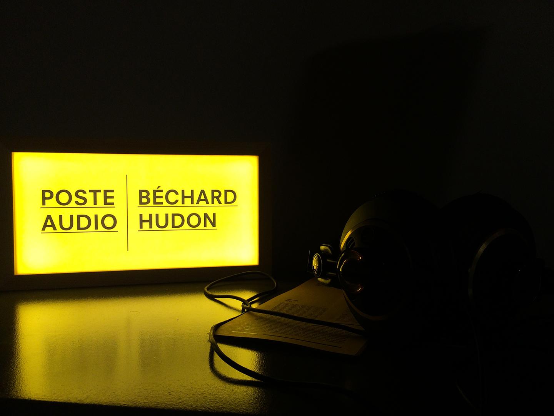 BechardHudon_PosteAudioClark_1